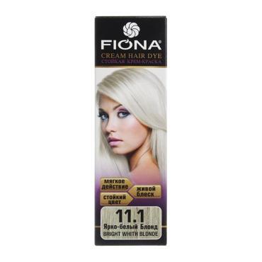 Краска для волос Fiona ярко белый блонд 6111