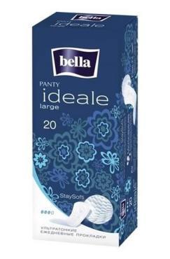 Прокладки ежедневные 20 шт., Bella Panty Ideale Large, Картонная коробка