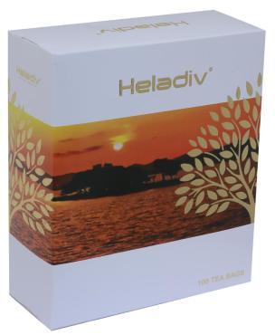 Чай Heladiv черный в пакетиках