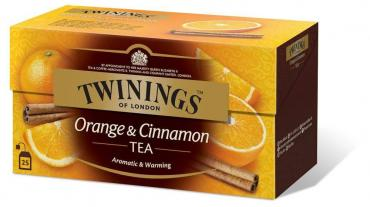 Чай черный Twinings Orange&Cinnamon 25 пакетов