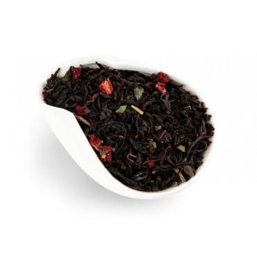 Чай Черный Жемчуг сливочная земляника