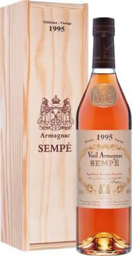 Арманьяк 40% Sempe Vieil Armagnac 1995, 700 мл., подарочная упаковка