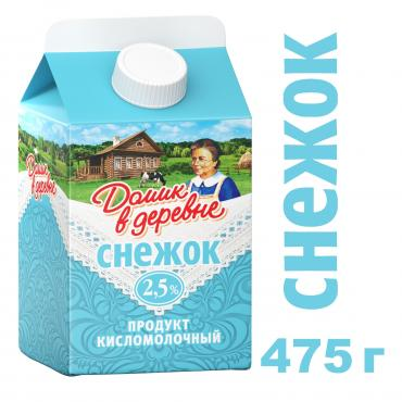 "Снежок ""Домик в деревне"" 2.5% 475г TR Twist Cap"