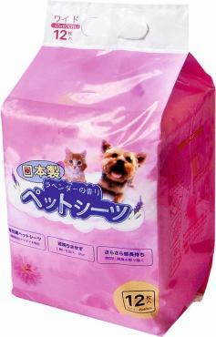 Коврики для собак и кошек Hakase Arekkusu гелевые впитывающие с липким фиксатором и ароматизатором 45х60 см. 12 шт.