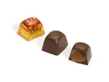 Конфеты с начинкой Рахат Нур, обертка фольга/бумага
