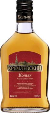 Коньяк российский Кремлевский, 250 мл., стекло