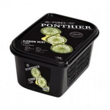 Пюре Ponthier Лимон зеленый Лайм