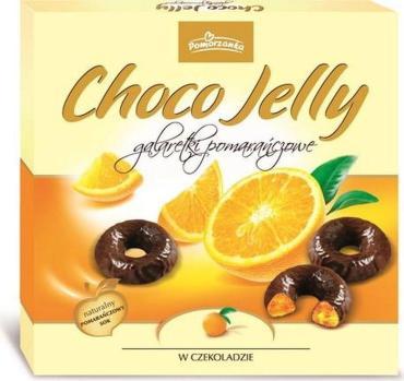 Желе апельсиновое в темном шоколаде Pomorzanka Choco Jelly, Millano, 175 гр., картонная коробка