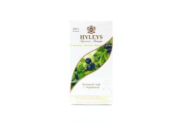 Чай зеленый Hyleys С черникой Гармония природы СУПРИМ 25 пакетов