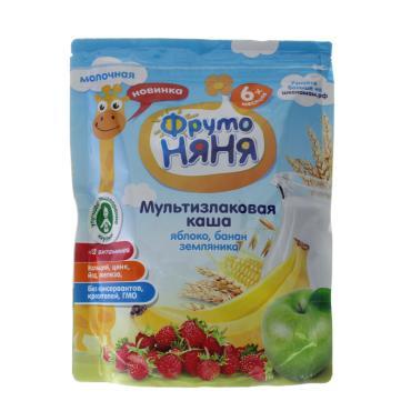 Каша ФрутоНяня яблоко банан молочная