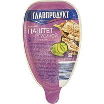 Паштет нежный Из гусиной печени Главпродукт, 95 гр., ПЭТ