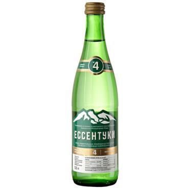Вода минеральная Ессентуки №4 питьевая газированная