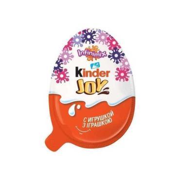 Яйцо шоколадное Kinder Joy Infinimix для девочек