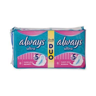 Прокладки Always Ultra Super Plus Duo 16шт