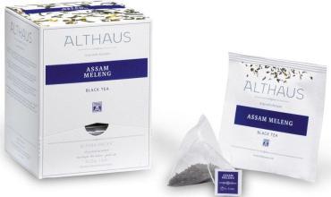 Чай пакетированный Althaus Pira Packs Assam Meleng 15 пак.