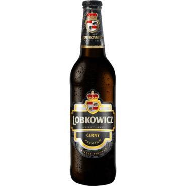 Пиво Lobkowicz Premium Dark фильтрованное пастеризованное темное 4,7%