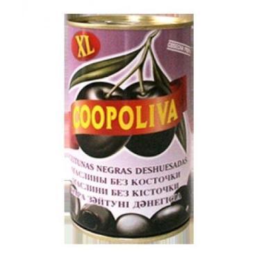 Маслины Coopoliva без косточки