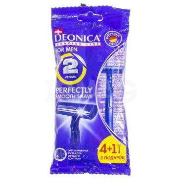 Станок Deonica одноразовый стандарт бритвенный мужской 2 лезвия 1 шт.
