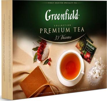 Чай GREENFIELD Premium tea сollection Ассорти пакетированный 120 шт.