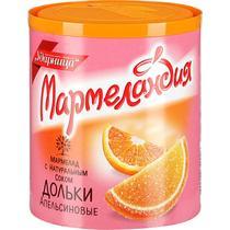 Мармелад Мармеландия Дольки апельсиновые с соком,  Ударница, 250 гр.,пэт