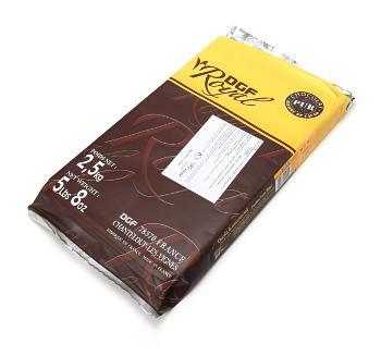 Шоколад DGF Royal черный 64% горький, FR