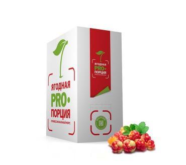 Морс Ягодная PRO Порция морошковый с минимальным объемм долей сока 60%