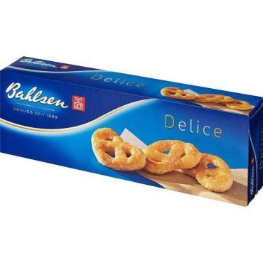 Печенье Bahlsen Delice сухое в форме крендельков 100 гр
