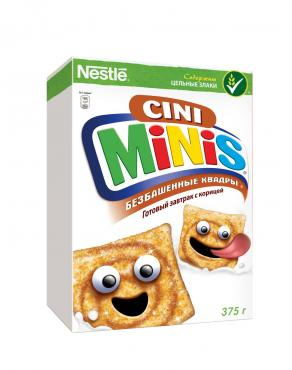 Готовый завтрак, CINI MINIS, 375 гр., картон