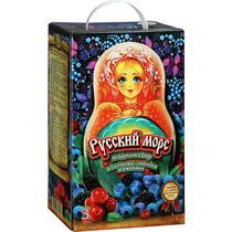 Морс Русский Морс ягодный сбор из клюквы черники и ежевики