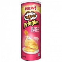 Чипсы Pringles Ham & Cheese Flavour