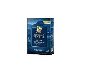 Чай Принцесса Нури Магия Бергамота черный листовой, 200 гр., картон