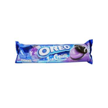 Печенье черничное мороженое, Oreo, 137 гр., флоу-пак