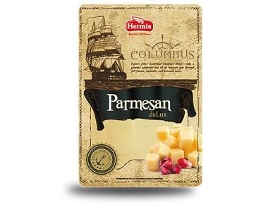 Сыр Columbus Пармезан деЛюкс 45% нарезка, Россия