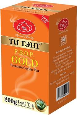 Чай Ти Тэнг Золотой черный