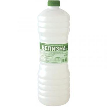 Отбеливатель жидкость Белизна 1 л., Пластиковая бутылка