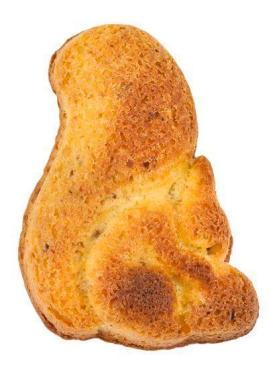 Печенье белочка с карамелью Столичный Пекарь