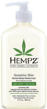 Молочко Hempz для тела увлажняющее, чувствительная кожа
