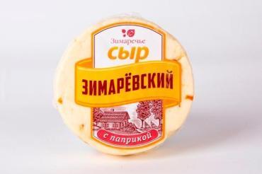 Сыр мягкий Зимарёвский с паприкой, Зимаречье, 450 гр., вакуумная упаковка