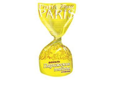 Конфеты Ваниль, Невский кондитер, Парижские тайны, 1 кг, обертка фольга/бумага