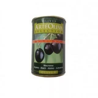 Оливки Arte oliva черные с косточкой