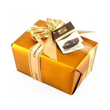 """НГ Набор шоколадных конфет ЗОЛОТАЯ подарочная упаковка """"Байнд"""", 110 гр.*1 (1=12) (6089)"""