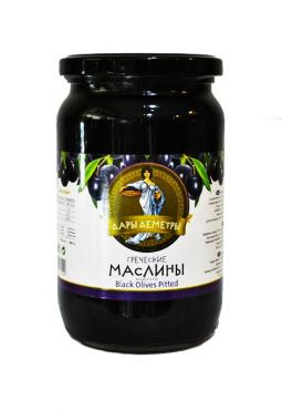 Дары Деметры маслины гигант с/к 720гр ст/б 1/12