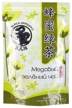 Чай зеленый Черный Дракон Медовый