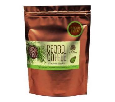 Кедро-кофе Сибирский кедр с кофе и шишкой