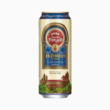 Пиво Storchen Domgold Hefe светлое нефильтрованное 5,2%