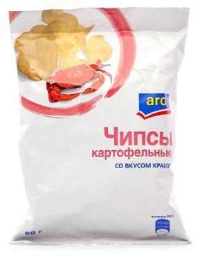 Чипсы Aro со вкусом краба