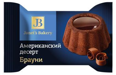 Десерт Janet's Bakery американский Брауни