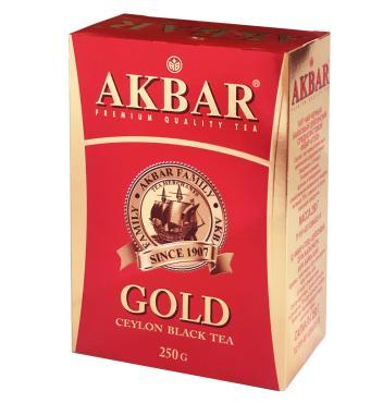 Чай Akbar Gold черный листовой