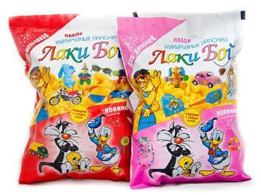 Кукурузные палочки Лаки Бой для девочек и мальчиков