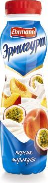 Йогуртный продукт Эрмигурт персик маракуйя 1,2%